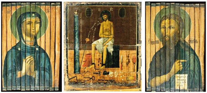 икона иисус в темнице тоже изготовлена с помощью технологии призмавижн