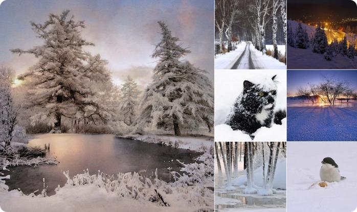 Начало зимы фото