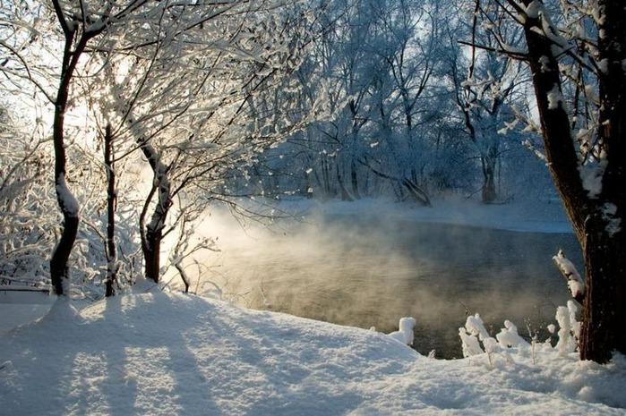 Вот и наступила зима 42