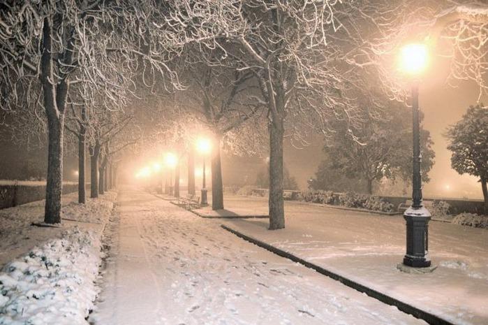 Вот и наступила зима 65