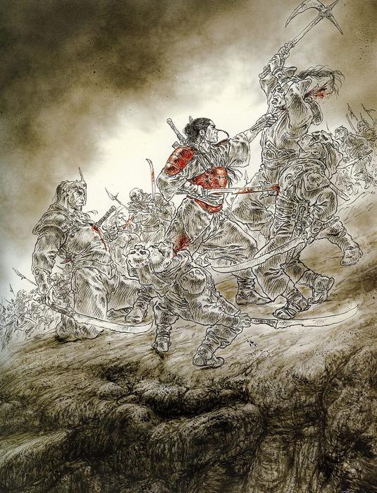 Новый альбом Dead moon от Luis Royo 37