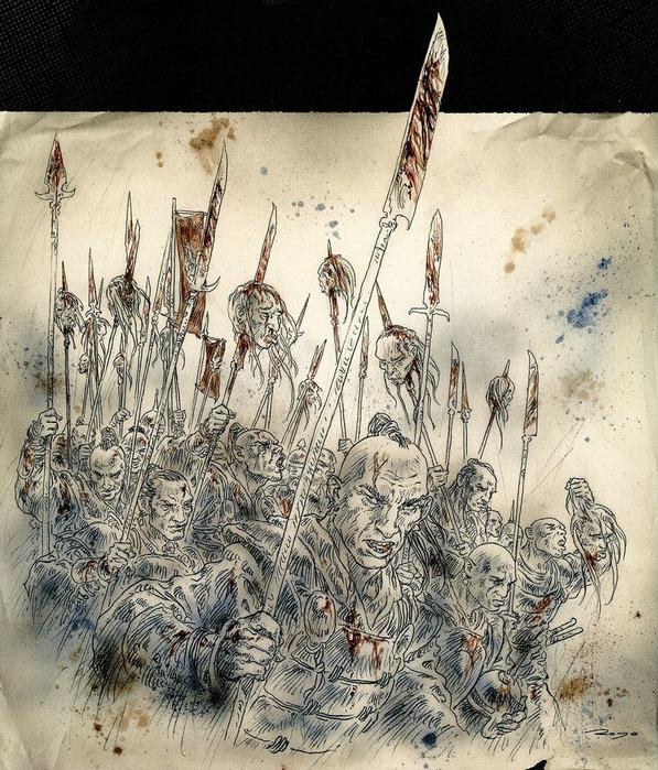 Новый альбом Dead moon от Luis Royo 40