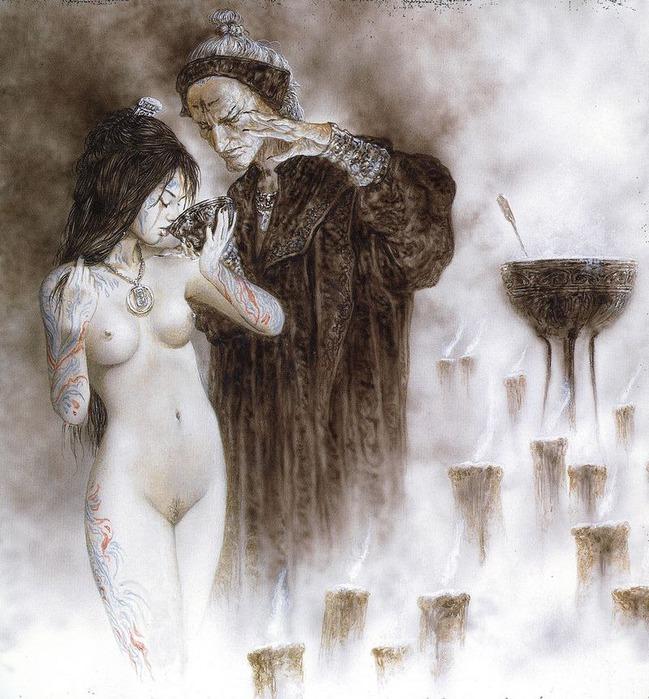 Новый альбом Dead moon от Luis Royo 58