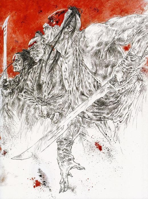 Новый альбом Dead moon от Luis Royo 68
