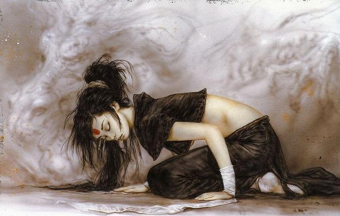 Новый альбом Dead moon от Luis Royo 81