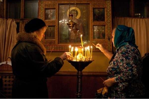 Андрей Петрушин. Фото в храме на Карамышевской в Москве