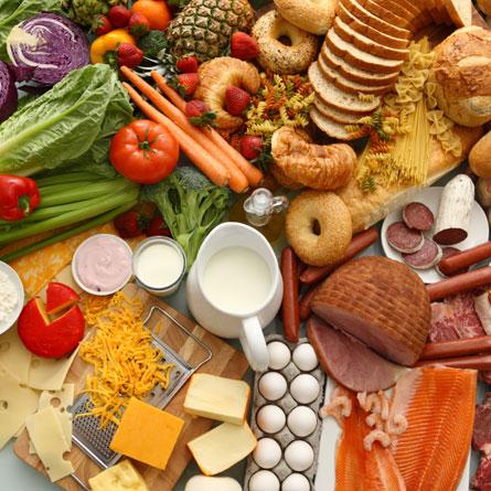 Рассчет структуры питания