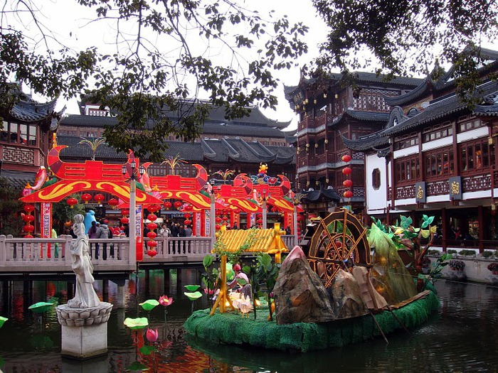 «Сад Радости Yuyuan. Юй Юань» (Yuyuan Shangchang) 35523