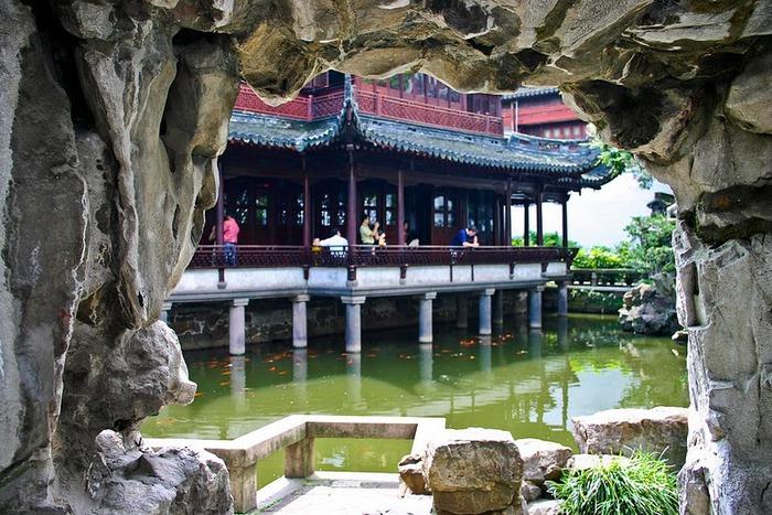 «Сад Радости Yuyuan. Юй Юань» (Yuyuan Shangchang) 77777