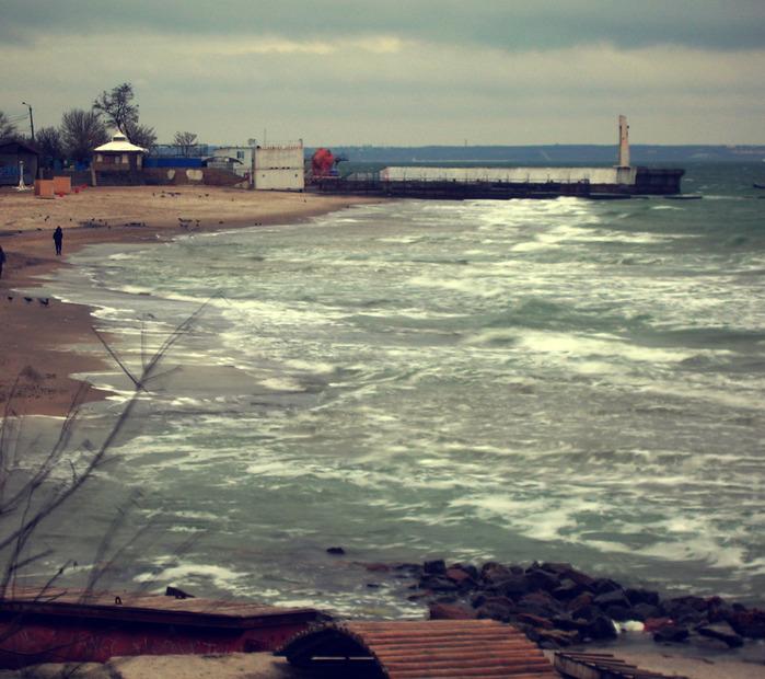 море. разлив прилив приход