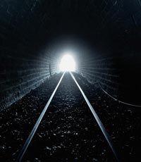 фото свет в конце тоннеля