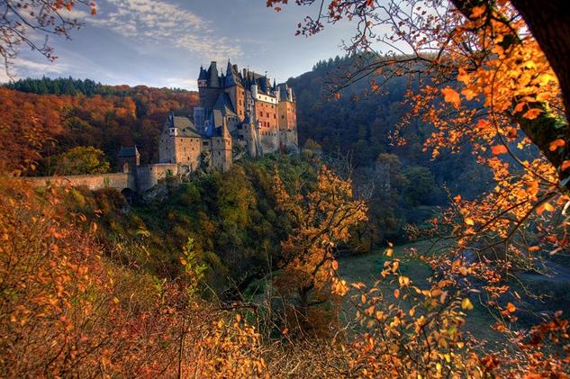 Замки мира - фото замка Эльц