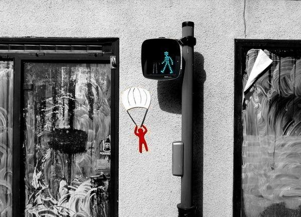 Забавный стрит-арт 9