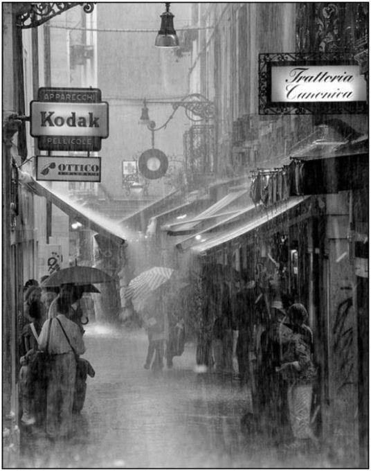 По краю дождя...