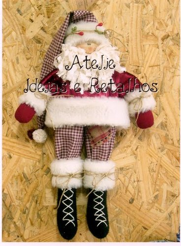 Шьем Санта Клауса