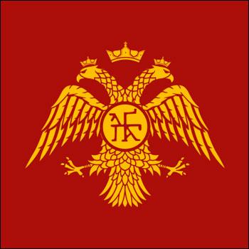 трафарет герба россии
