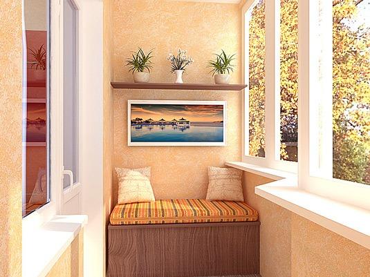 Как преобразить интерьер балкона 6