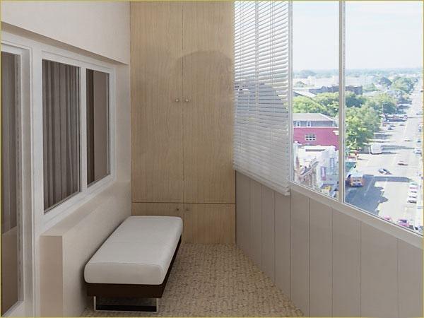 Как преобразить интерьер балкона 9