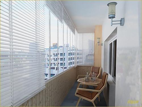Как преобразить интерьер балкона 22