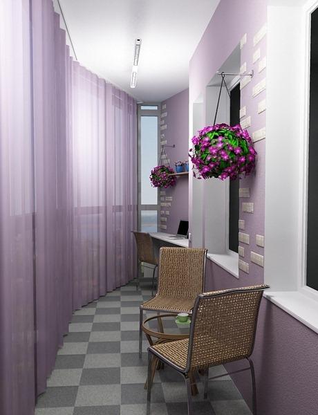 Как преобразить интерьер балкона 23