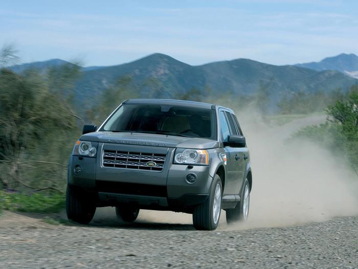 Классный внедорожник Land Rover