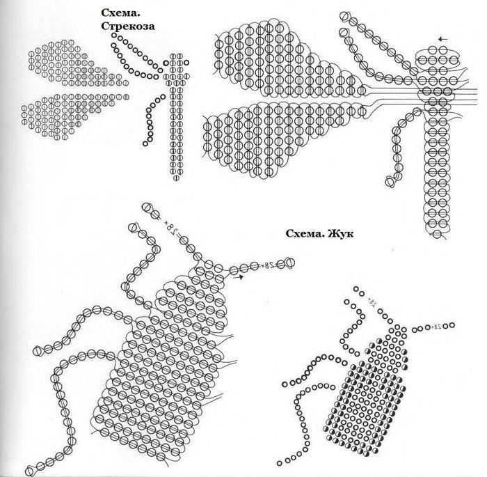 Часть 1 - Схемы животных из