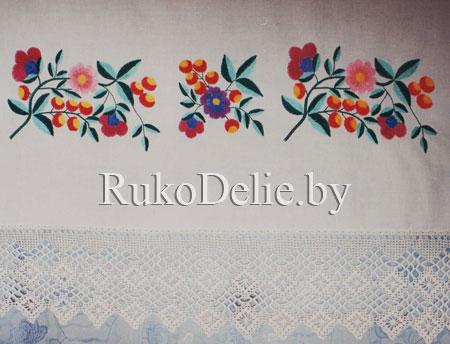 Купить Старинная русская вышивка тамбурным швом