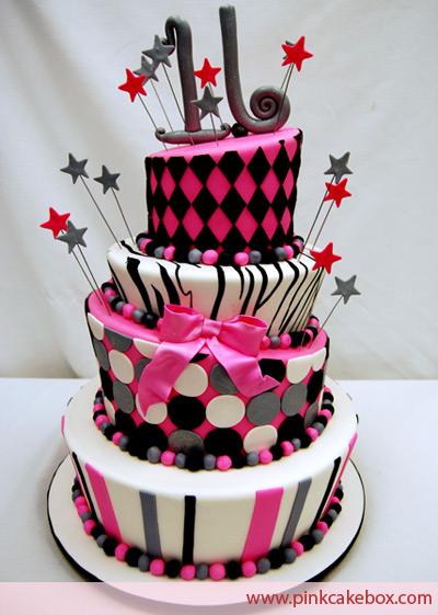 Amazing 16th Birthday Cakes of sweet 16 birthday cakes