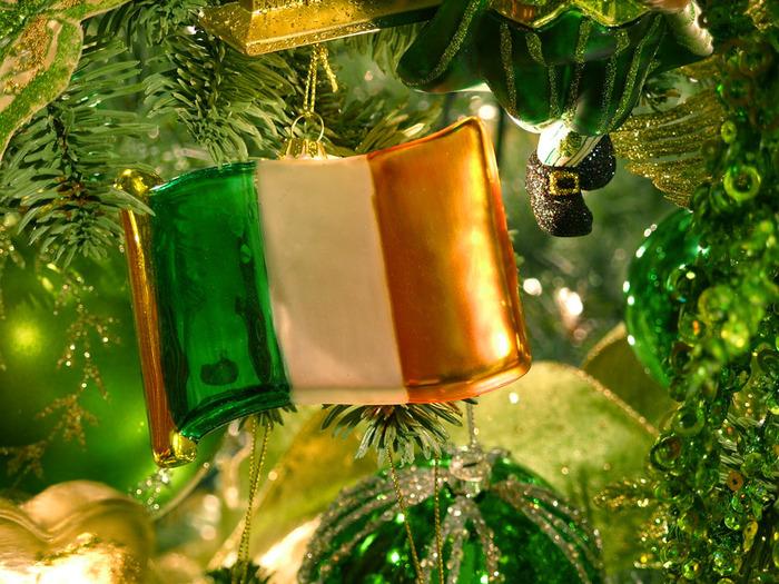 Какой он Новый год? 68470075_1293557902_irishflagornament