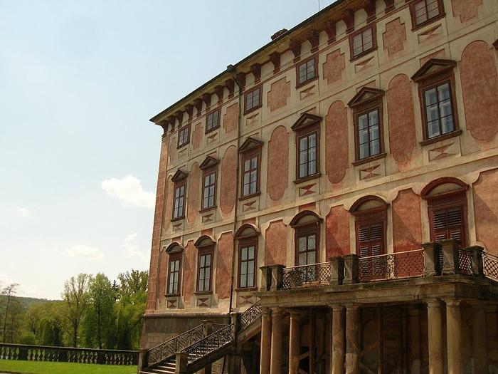 Замок Либоховице . Libochovice 10916