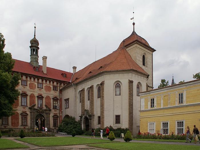 Замок Либоховице . Libochovice 67492