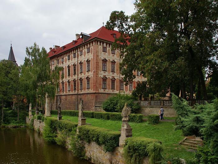 Замок Либоховице . Libochovice 80249