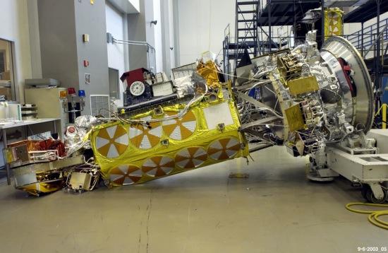 NOAA-N Prime после падения