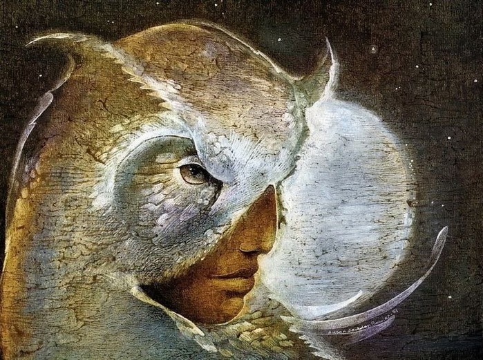 Шаманская живопись от Susan Seddon Boulet  2