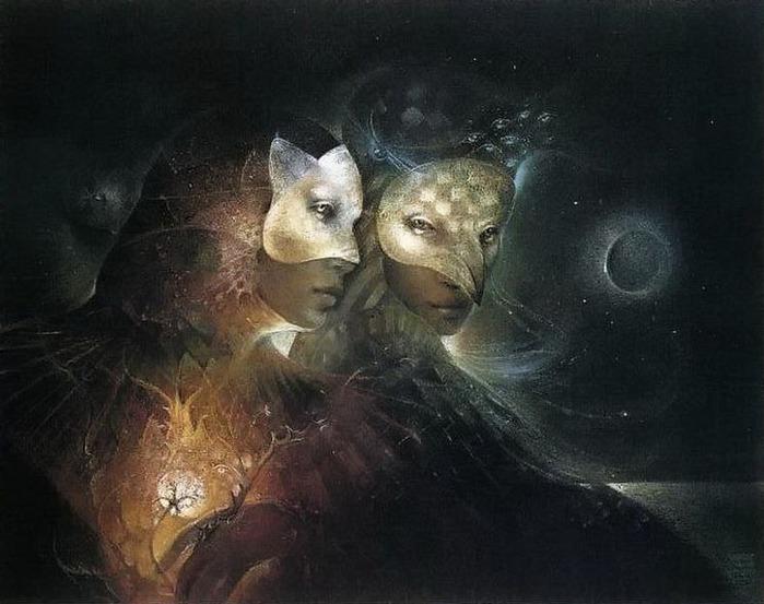 Шаманская живопись от Susan Seddon Boulet  4