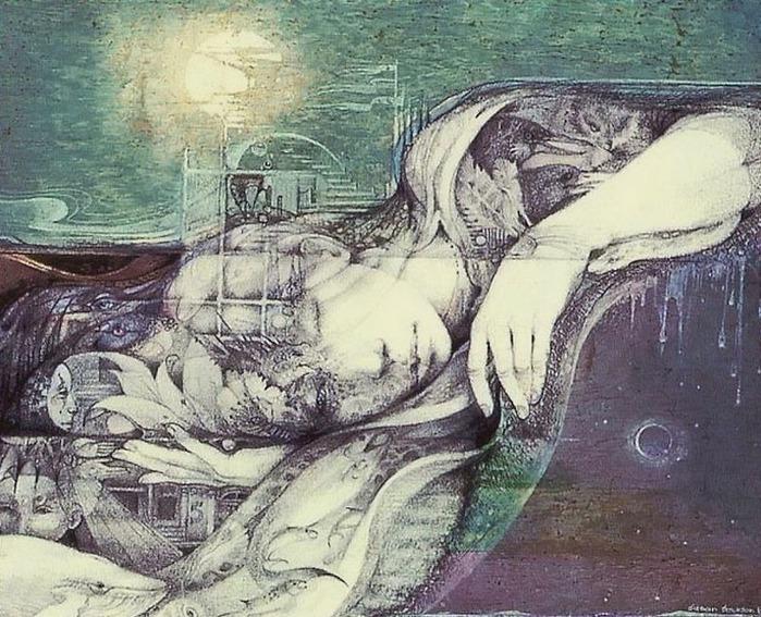 Шаманская живопись от Susan Seddon Boulet  8