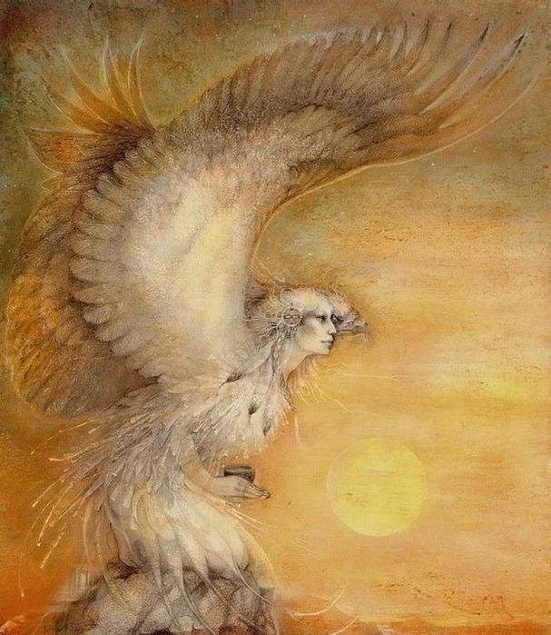 Шаманская живопись от Susan Seddon Boulet  11