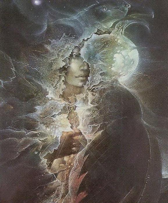 Шаманская живопись от Susan Seddon Boulet  14