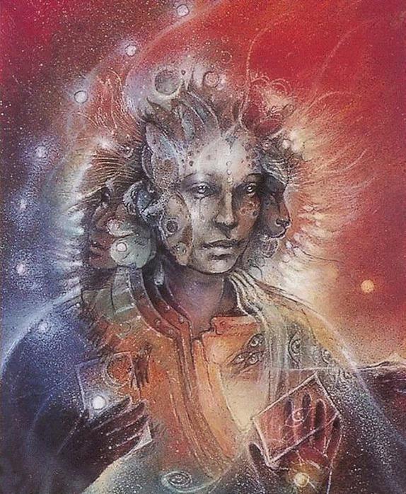 Шаманская живопись от Susan Seddon Boulet  17