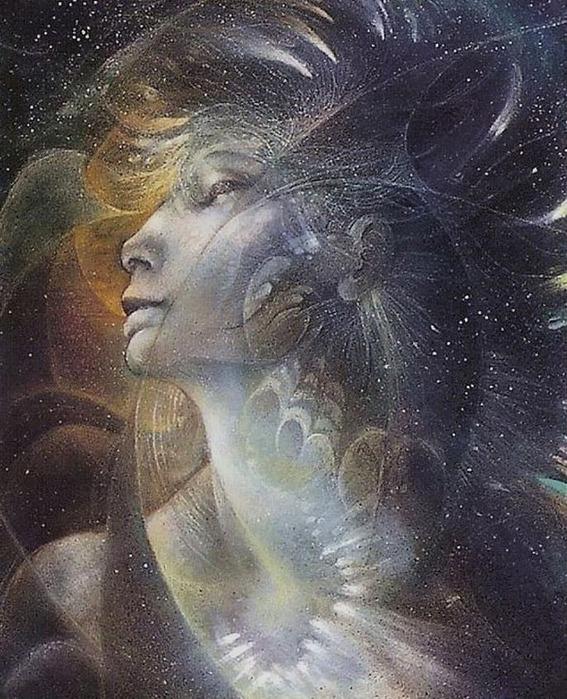 Шаманская живопись от Susan Seddon Boulet  20