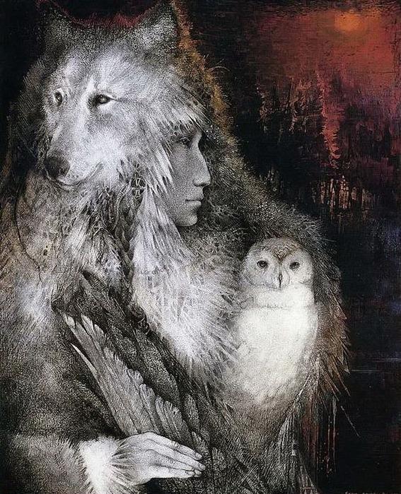 Шаманская живопись от Susan Seddon Boulet  21
