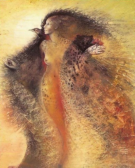 Шаманская живопись от Susan Seddon Boulet  26