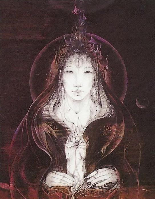 Шаманская живопись от Susan Seddon Boulet  29
