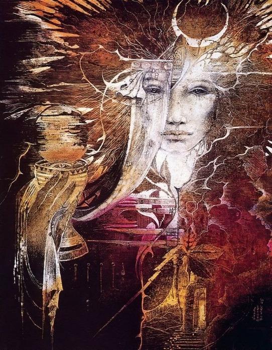 Шаманская живопись от Susan Seddon Boulet  30