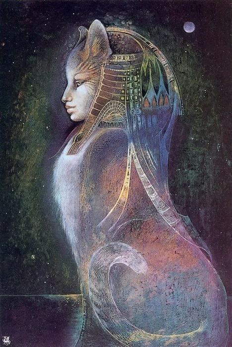 Шаманская живопись от Susan Seddon Boulet  32