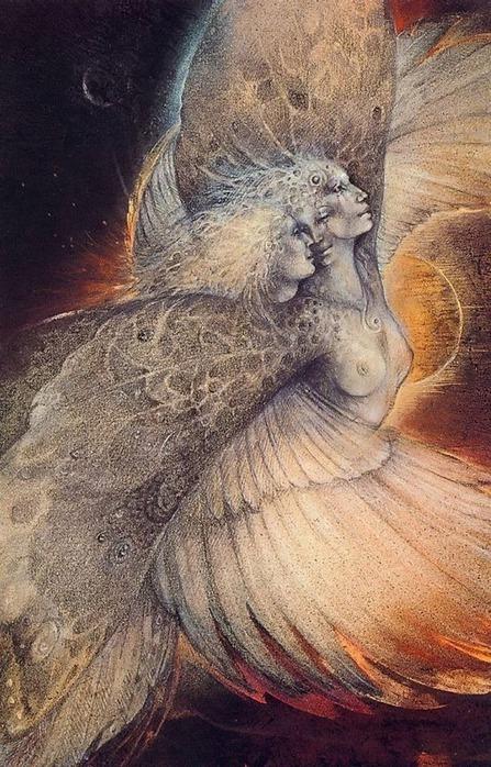 Шаманская живопись от Susan Seddon Boulet  33