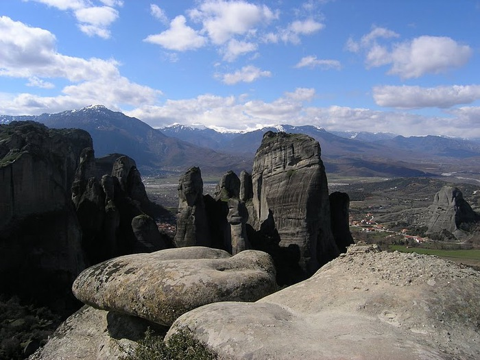 Монастыри Метеоры – парящие в воздухе 28744