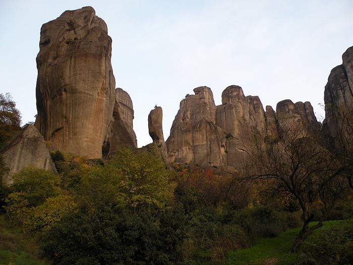 Монастыри Метеоры – парящие в воздухе 33973