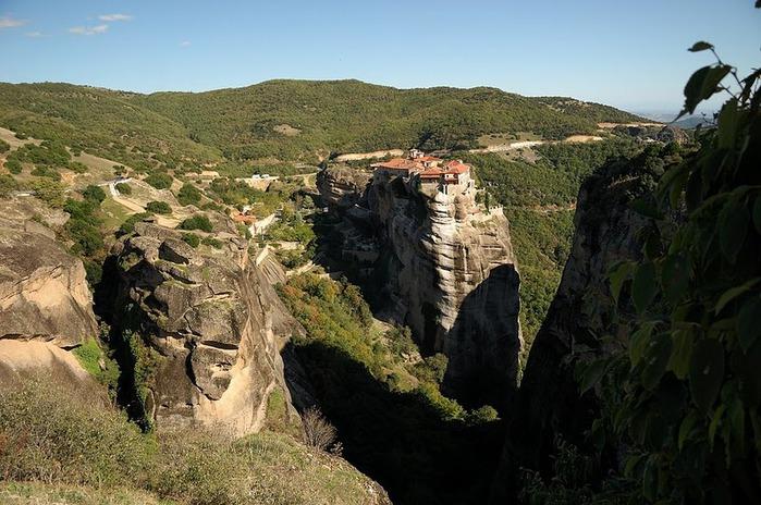 Монастыри Метеоры – парящие в воздухе 40812