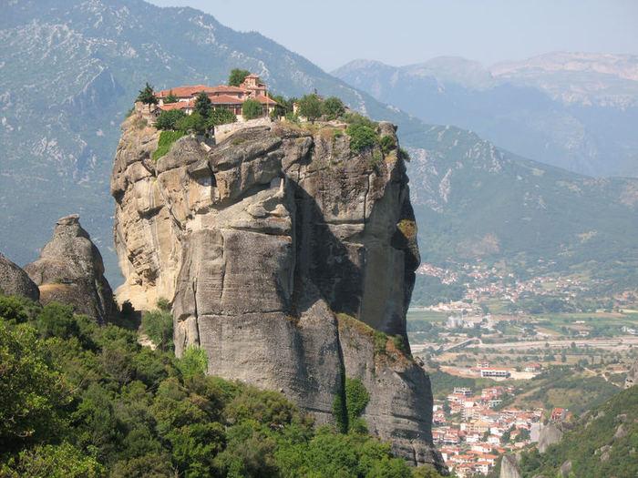 Монастыри Метеоры – парящие в воздухе 11007